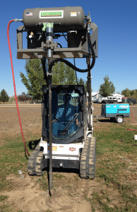EarthBuster Deep Soil Decompactor (Skid steer, compressor, and hose not included.)
